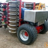 Bespoke fertilizer applicator for Sumo Trio, partially built